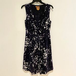 ❤️ Tory Burch Sleeveless Silk A-Line Dress